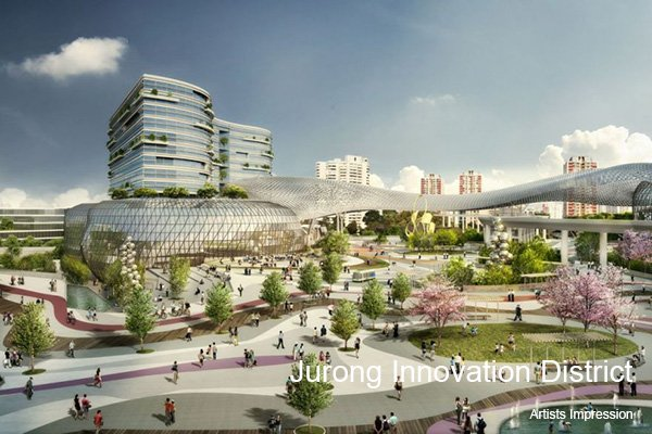 photo of Jurong Innovation District Artist Impression